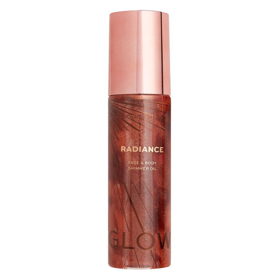 Makeup Revolution Glow Radiance Shimmer Oil Bronze 100 ml