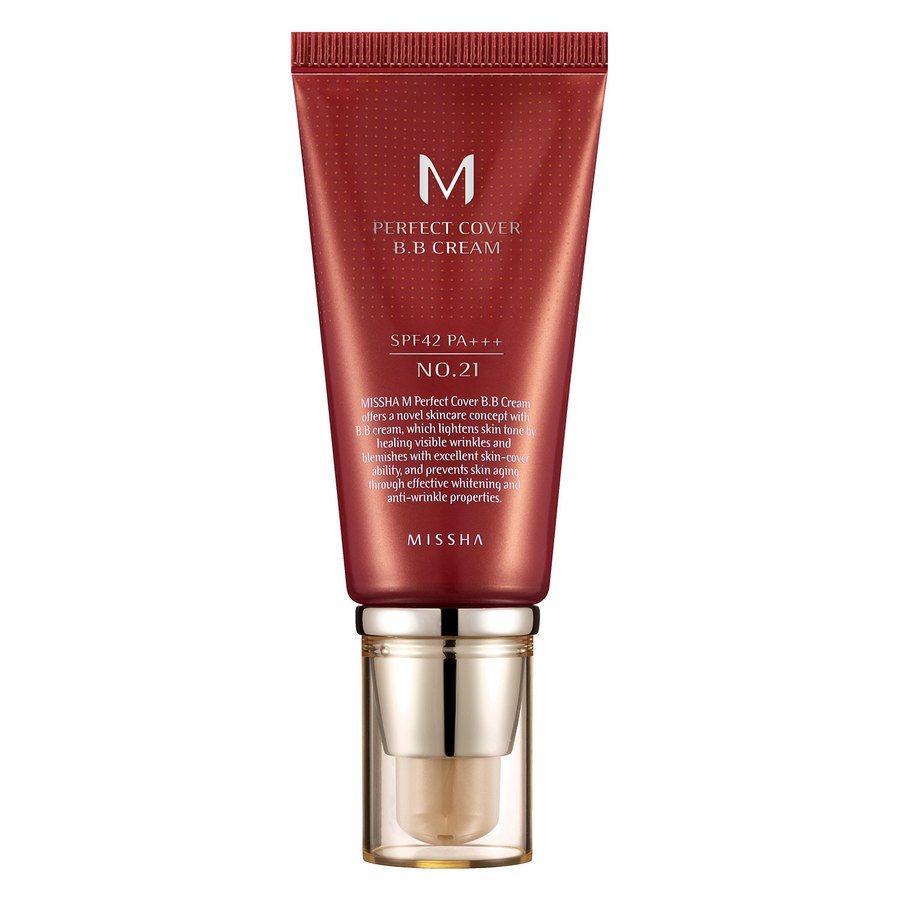 Missha M Perfect Cover Bb Cream Spf42/Pa+++ (No.21/Light Beige) 50ml