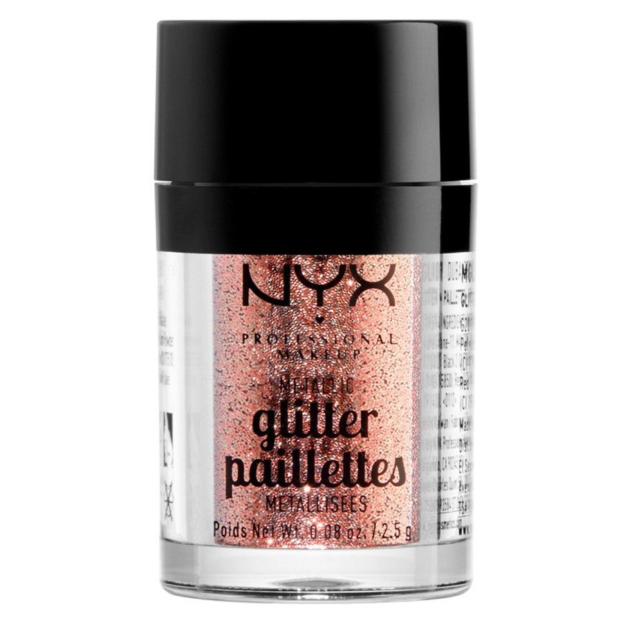 NYX Professional Makeup Metallic Glitter Dubai Bronze