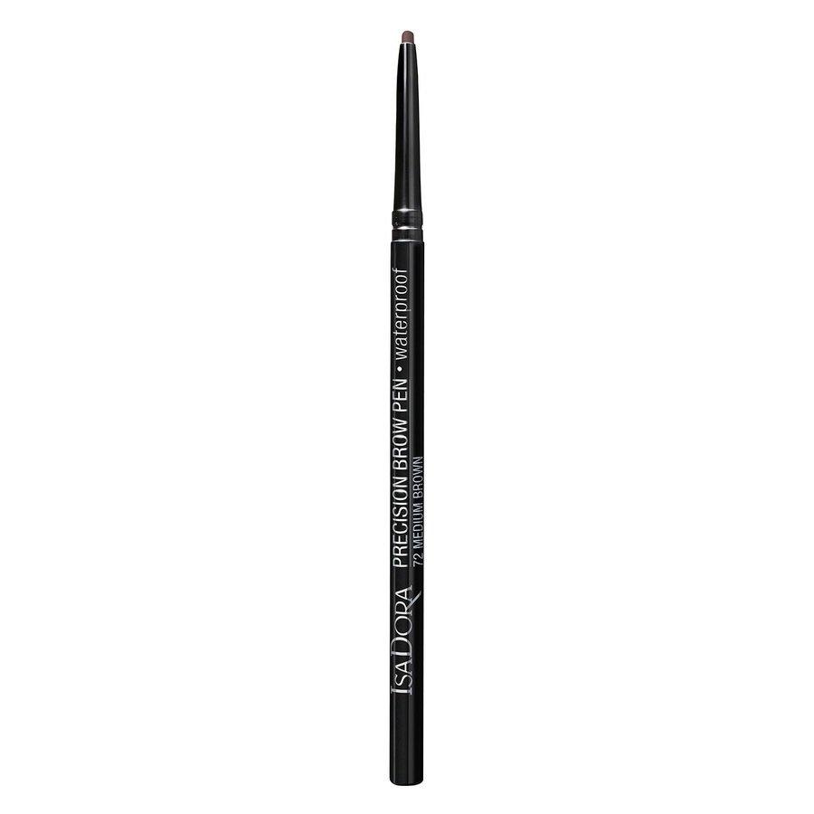 IsaDora Precision Brow Pen Waterproof #72 Medium Brown 0,09 g
