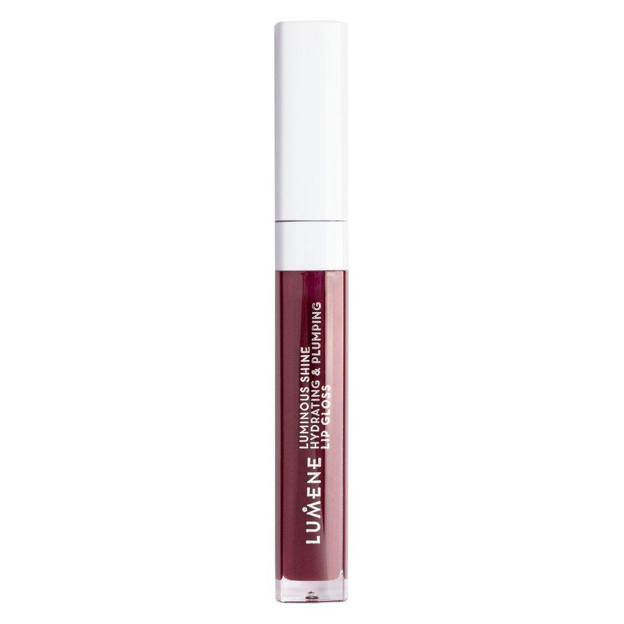 Lumene Luminous Shine Hydrating & Plumping Lip Gloss 10 Fresh Plum 5 ml
