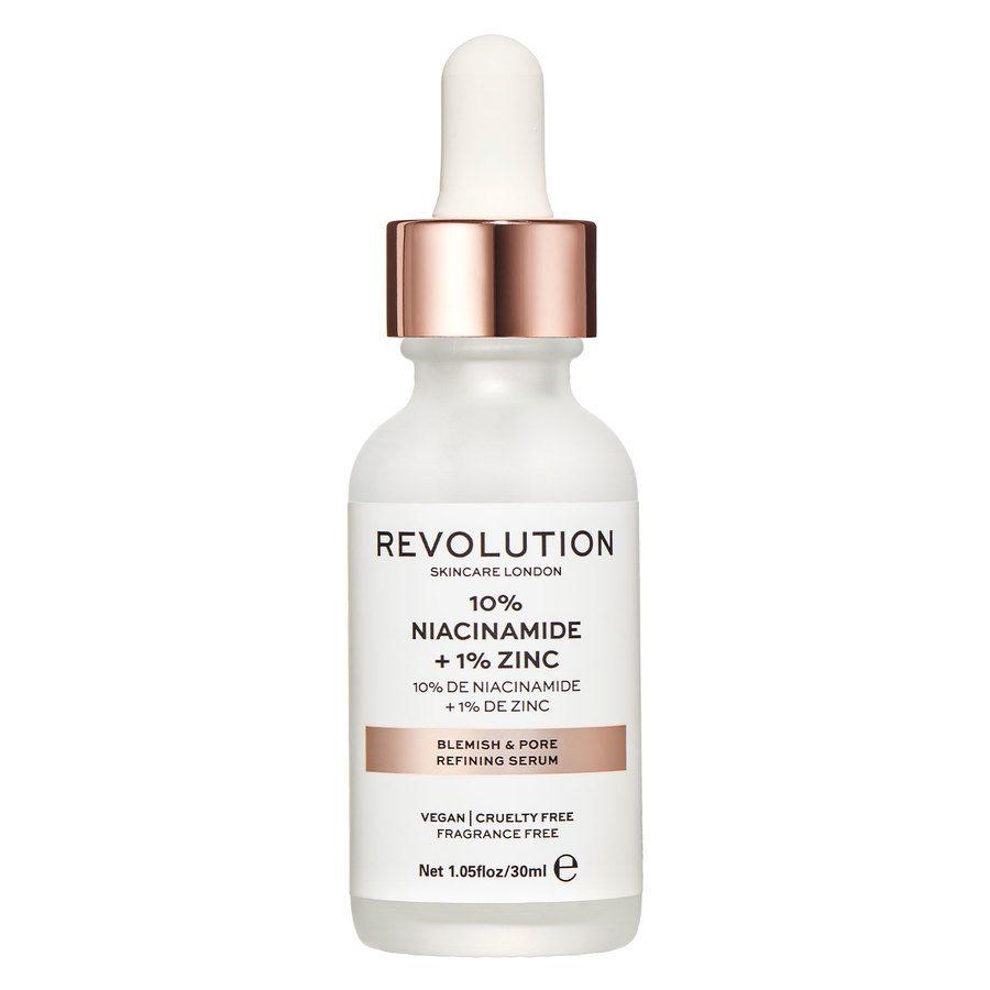 Revolution Skincare Blemish and Pore Refining Serum 10 % Niacinamide + 1 % Zink 30 ml