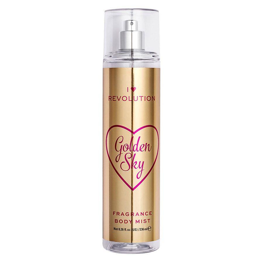 Makeup Revolution I Heart Revolution Golden Sky Body Mist 236 ml