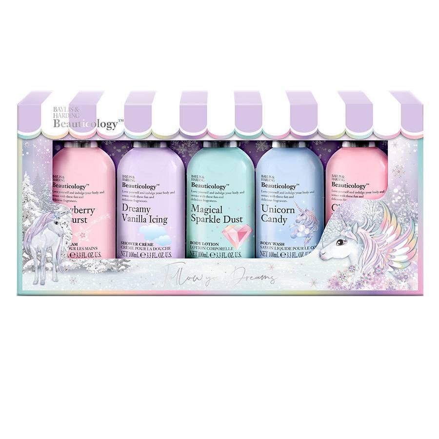 Baylis & Harding Beauticology Unicorn 5 Bottle Set
