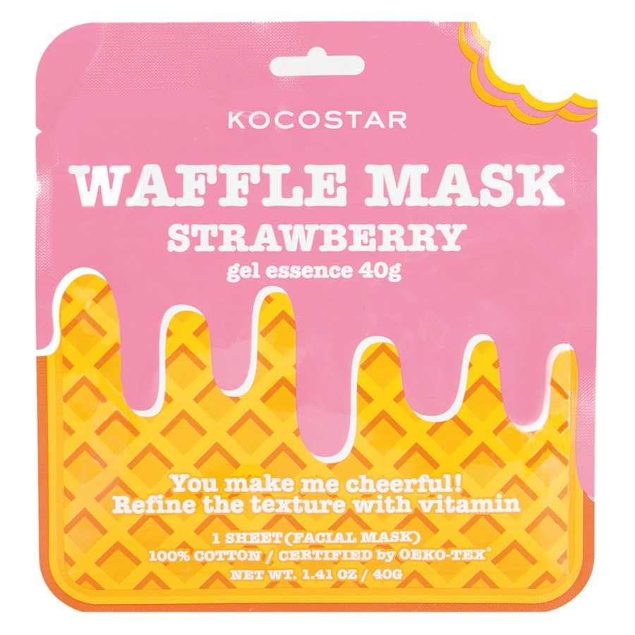 Kocostar Waffle Mask Strawberry 40 g