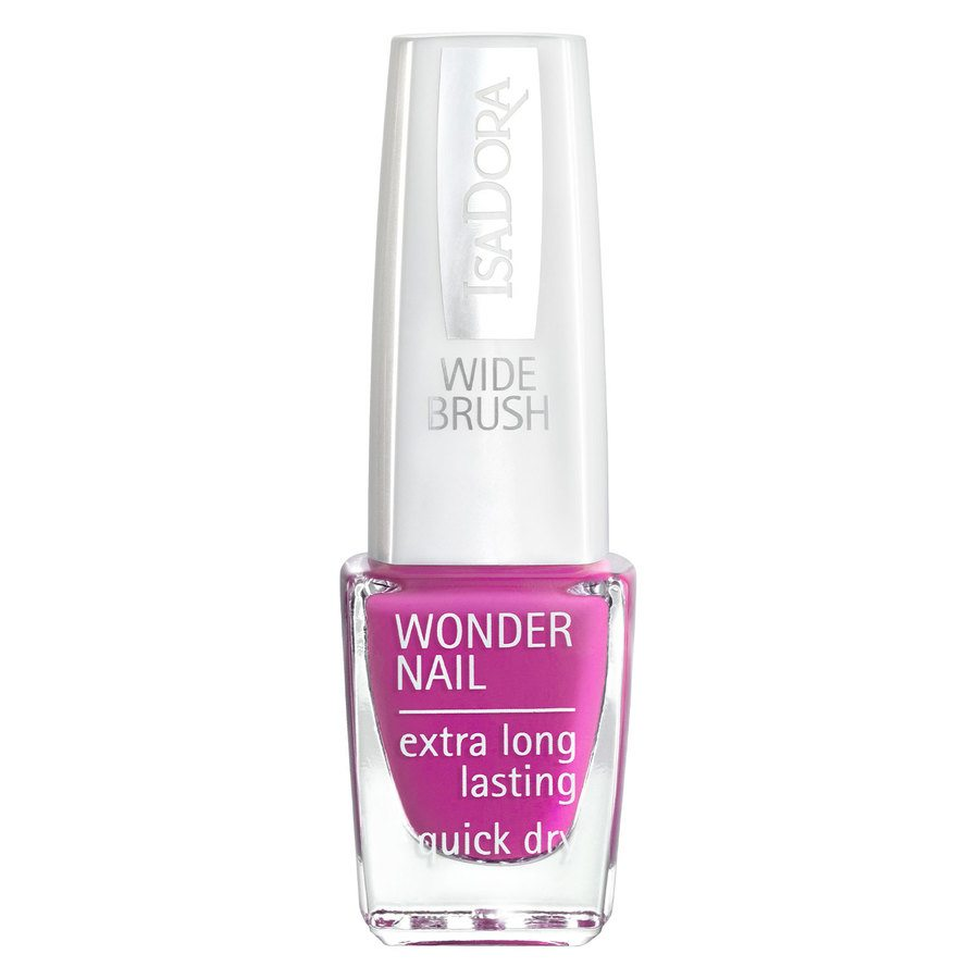 IsaDora Wonder Nail Wide Brush #192 Power Pink 6ml