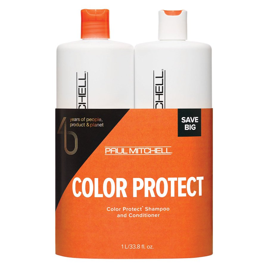 Paul Mitchell Color Care Color Protect Daily Shampoo & Conditioner Duo 2 x 1000 ml