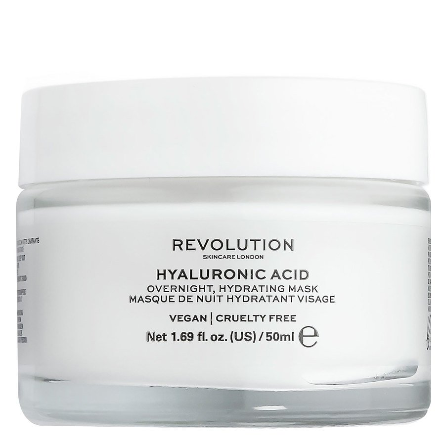 Revolution Skincare Hyaluronic Acid Overnight Hydrating Face Mask 50 ml
