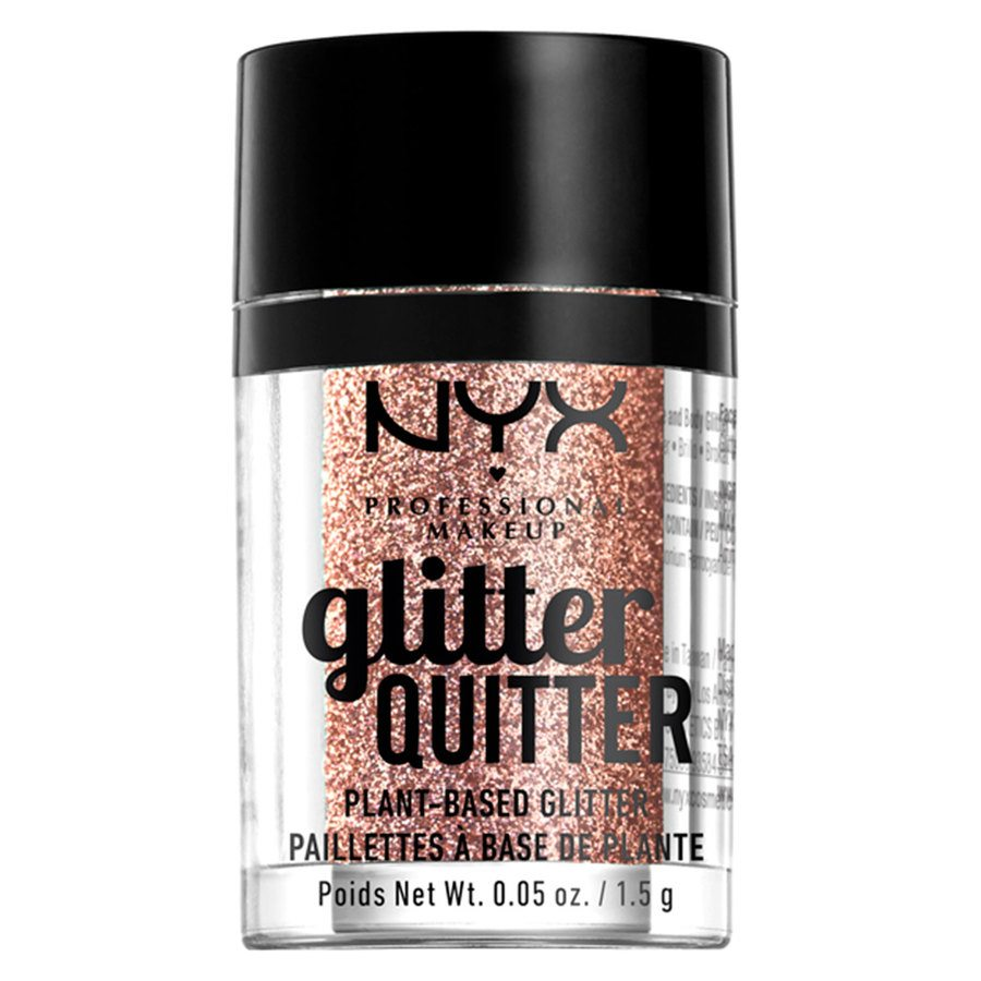 NYX Professional Makeup Glitter Quitter Plant Based Glitter Bronze 1,5 g