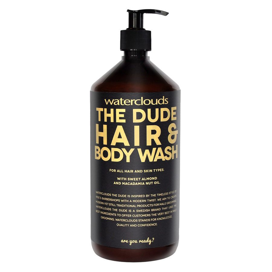 Waterclouds The Dude Hair & Body Wash 1000 ml