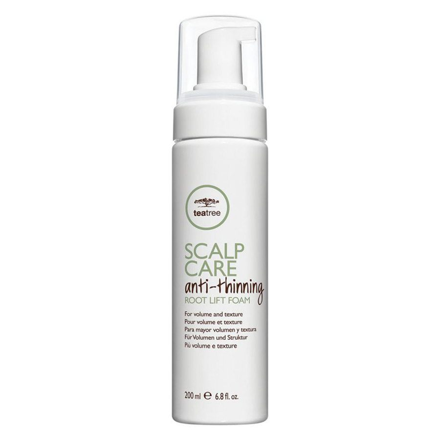 Paul Mitchell Tea Tree Anti-Thinning Scalp Care Root Lift Foam 200 ml