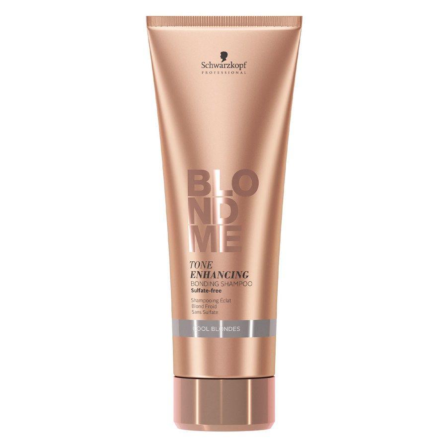 Schwarzkopf BlondMe Tone Enhancing Bonding Shampoo Cool Blonde 250 ml