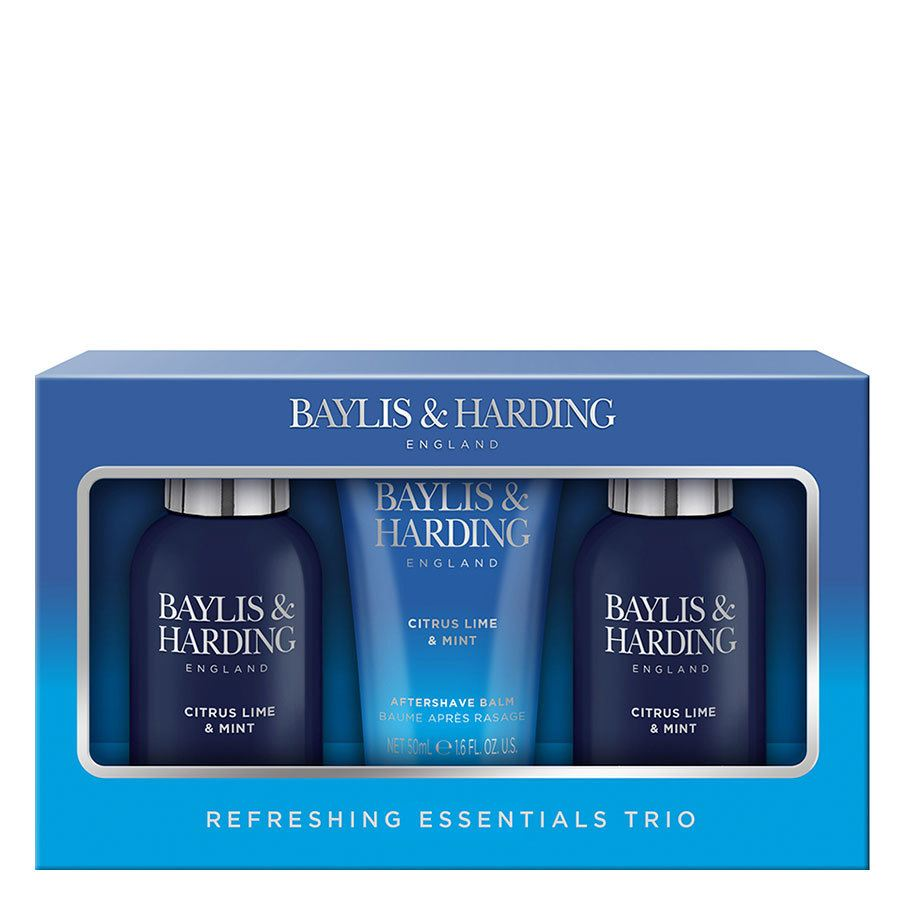 Baylis & Harding Men's Citrus Lime & Mint Body Travel Set