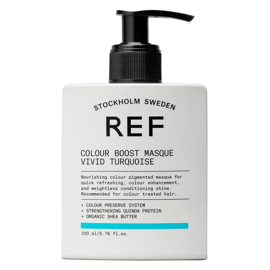 REF Color Boost Masque Vivid Turquoise 200 ml