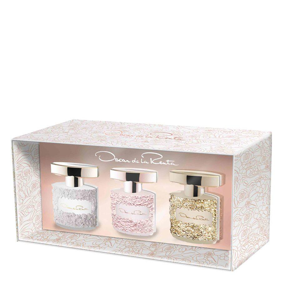 Oscar de la Renta Gift Set Mini Bella Blanca/Rosa/Essence 3 x 5 ml