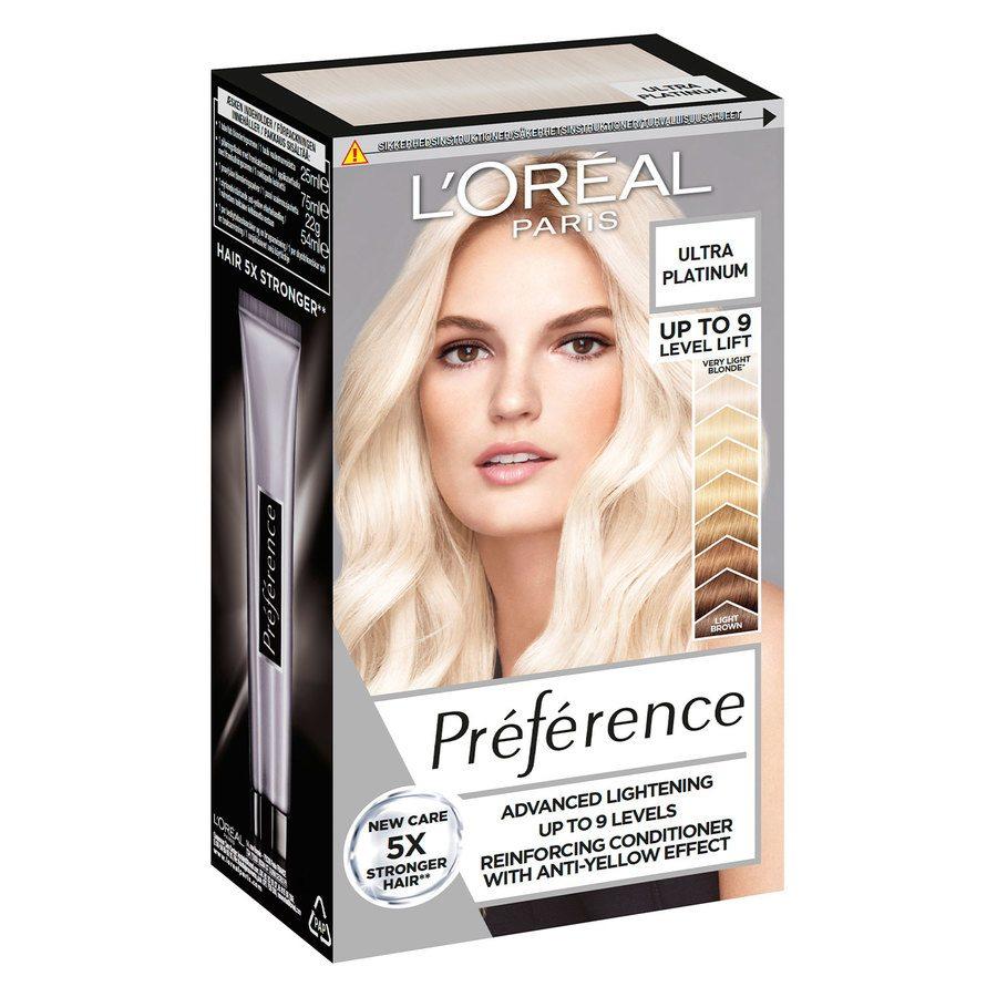 L'Oréal Paris Préférence Core Récital 9L Ultra Platinum