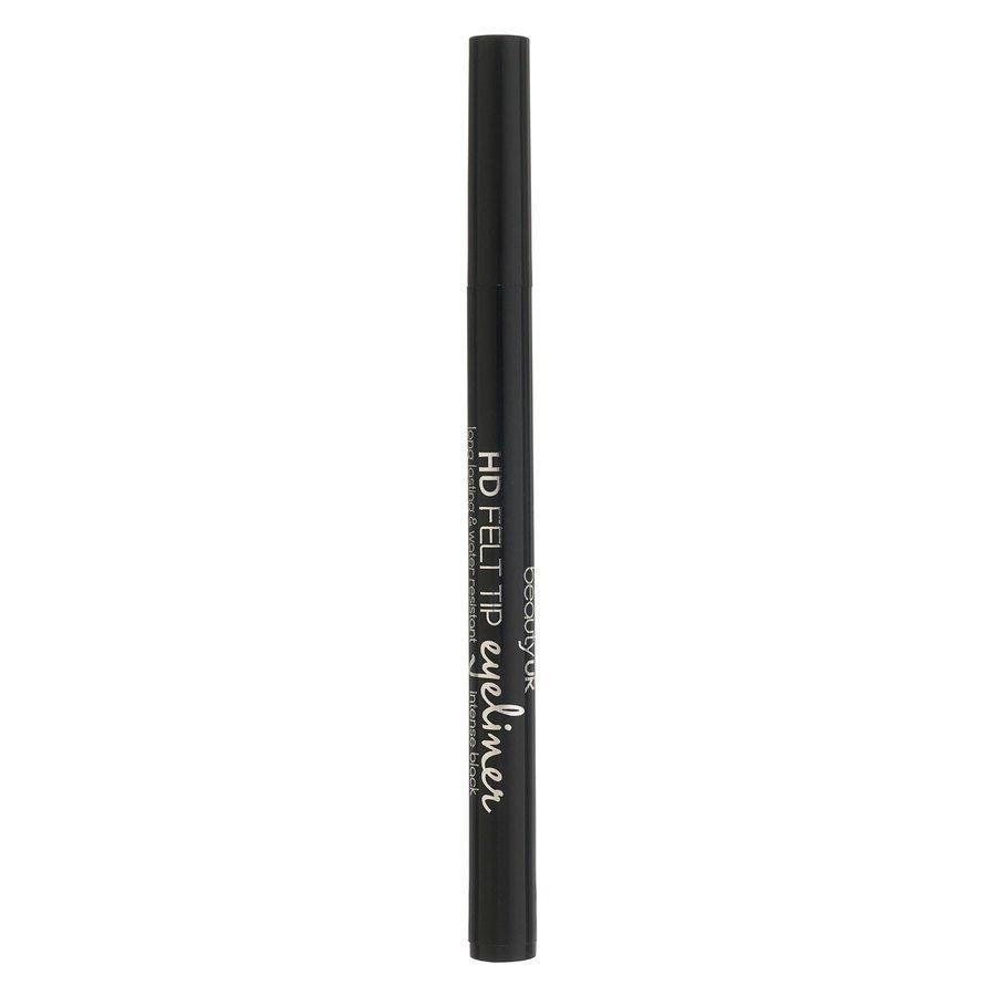 Beauty UK HD Felt Tip Eyeliner Black 1 g