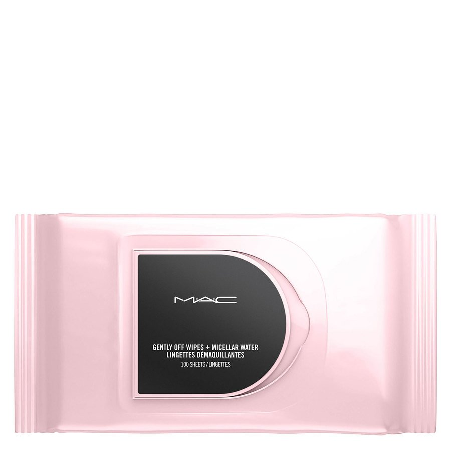 MAC Cosmetics Gently Off Wipes + Micellar Water 100pcs