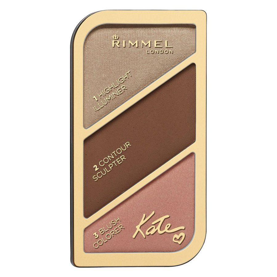 Rimmel London Kate Sculpting & Highlighting Palette #003 Golden Bronze 18,5g
