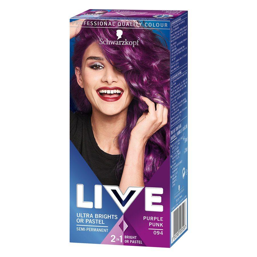 Schwarzkopf Live Ultra Bright #94 Purple