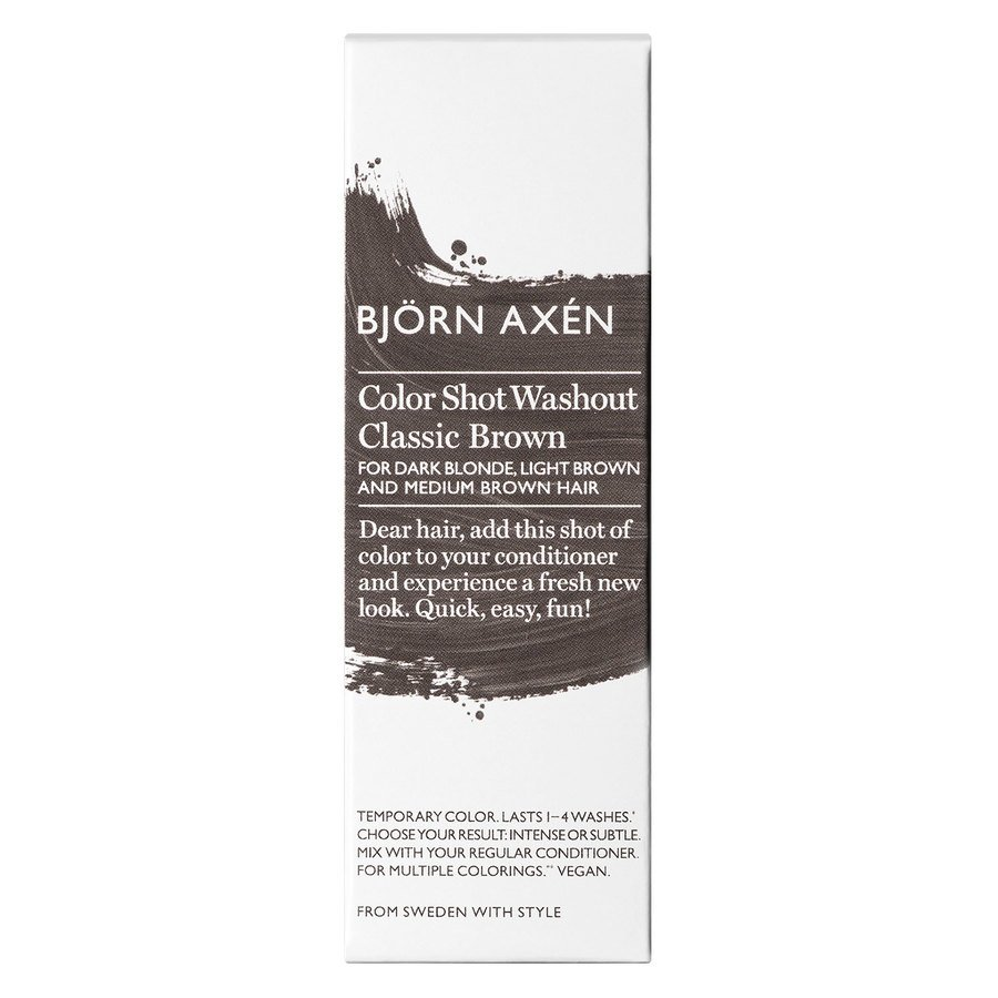 Björn Axén Color Shot Washout Classic Brown 50 ml