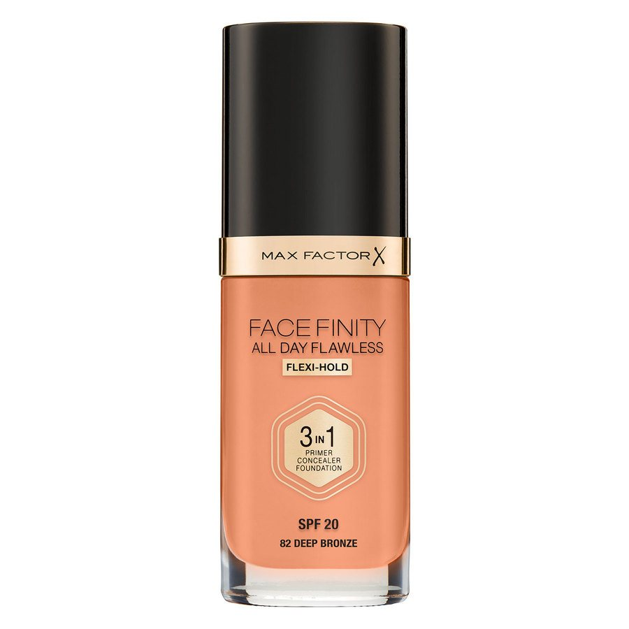 Max Factor Facefinity All Day Flawless 3-in-1 Foundation C82 Deep Bronze 30 ml
