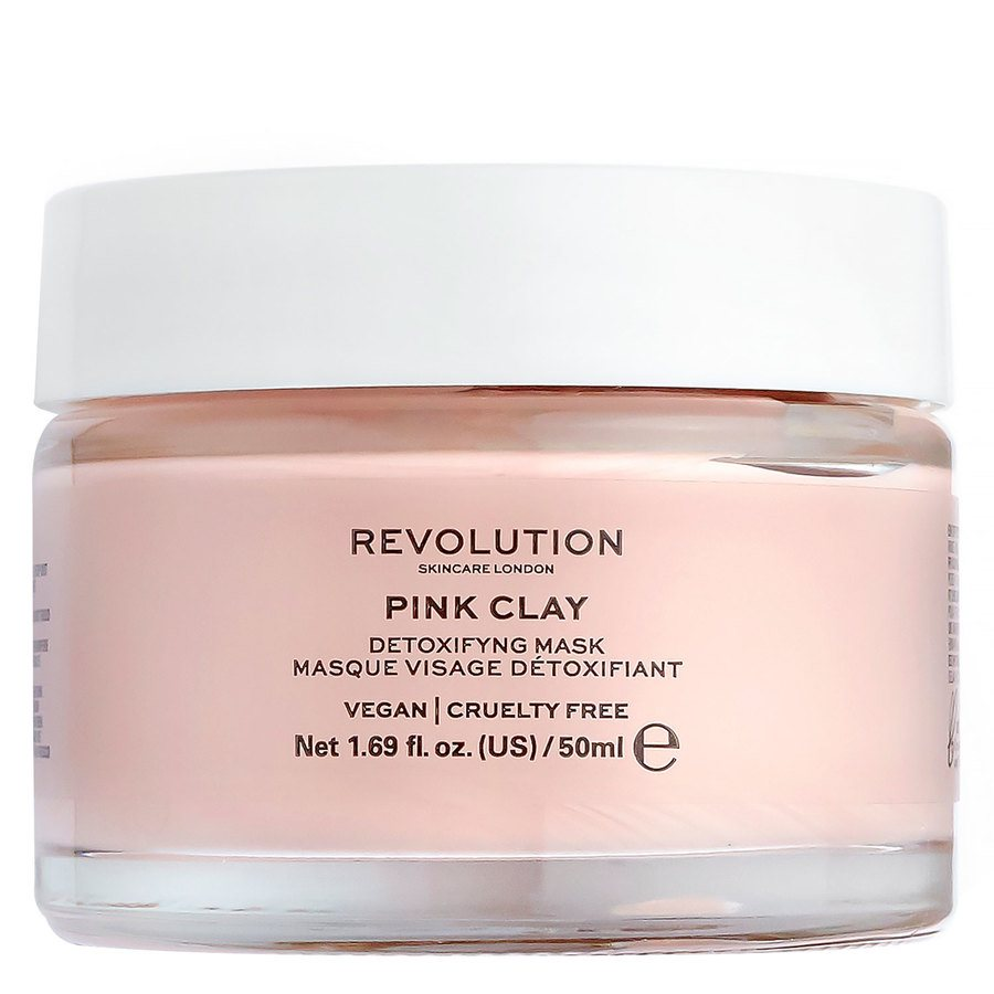 Revolution Skincare Pink Clay Detoxifying Face Mask 50 ml