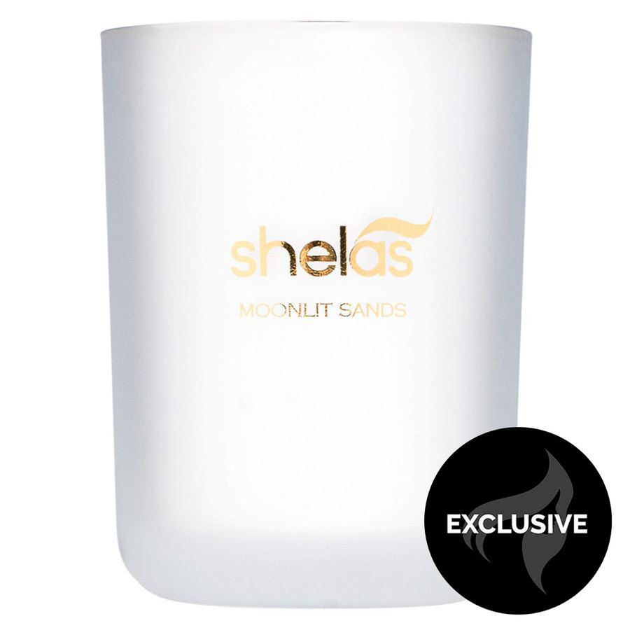 Shelas Moonlit Sands Scented Candle 250 g