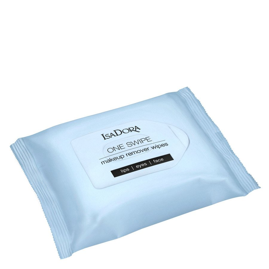 IsaDora One Swipe Makeup Remover Wipes 25 st.