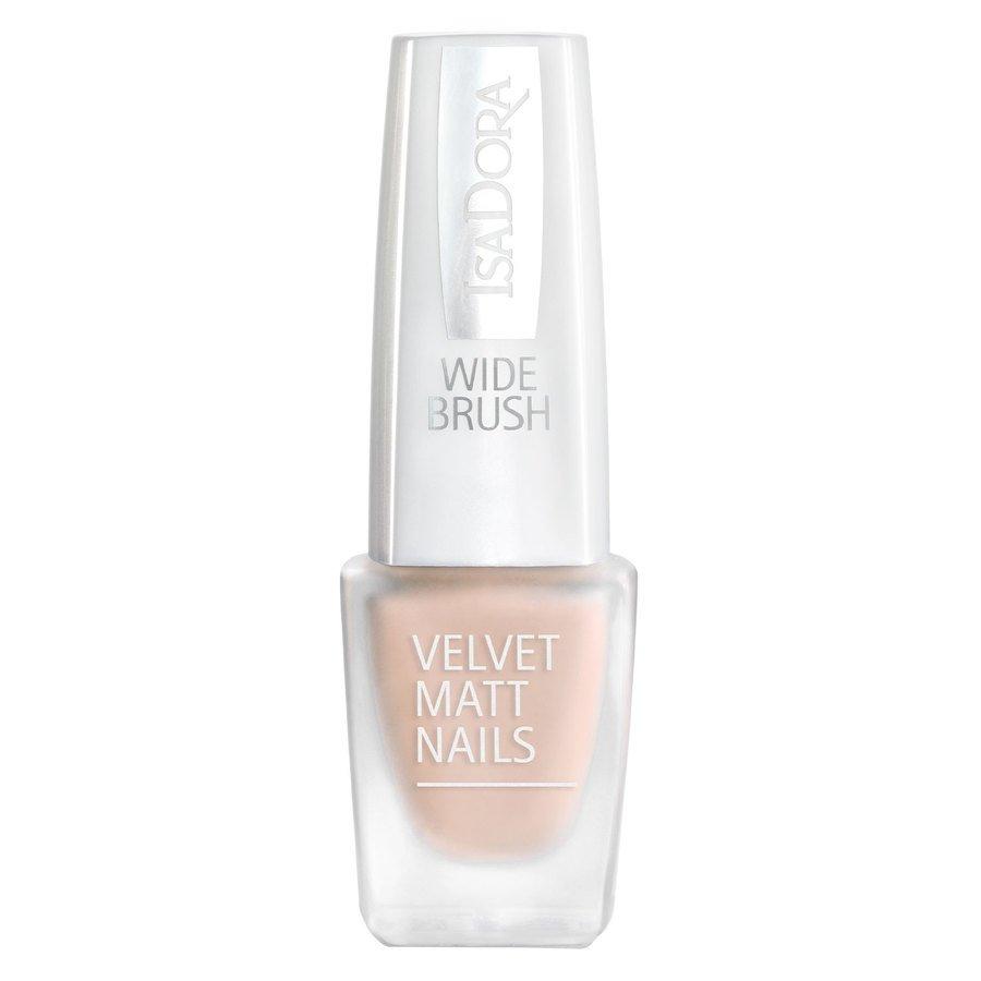 IsaDora Velvet Matt Nails #200 Peach Cream 6 ml