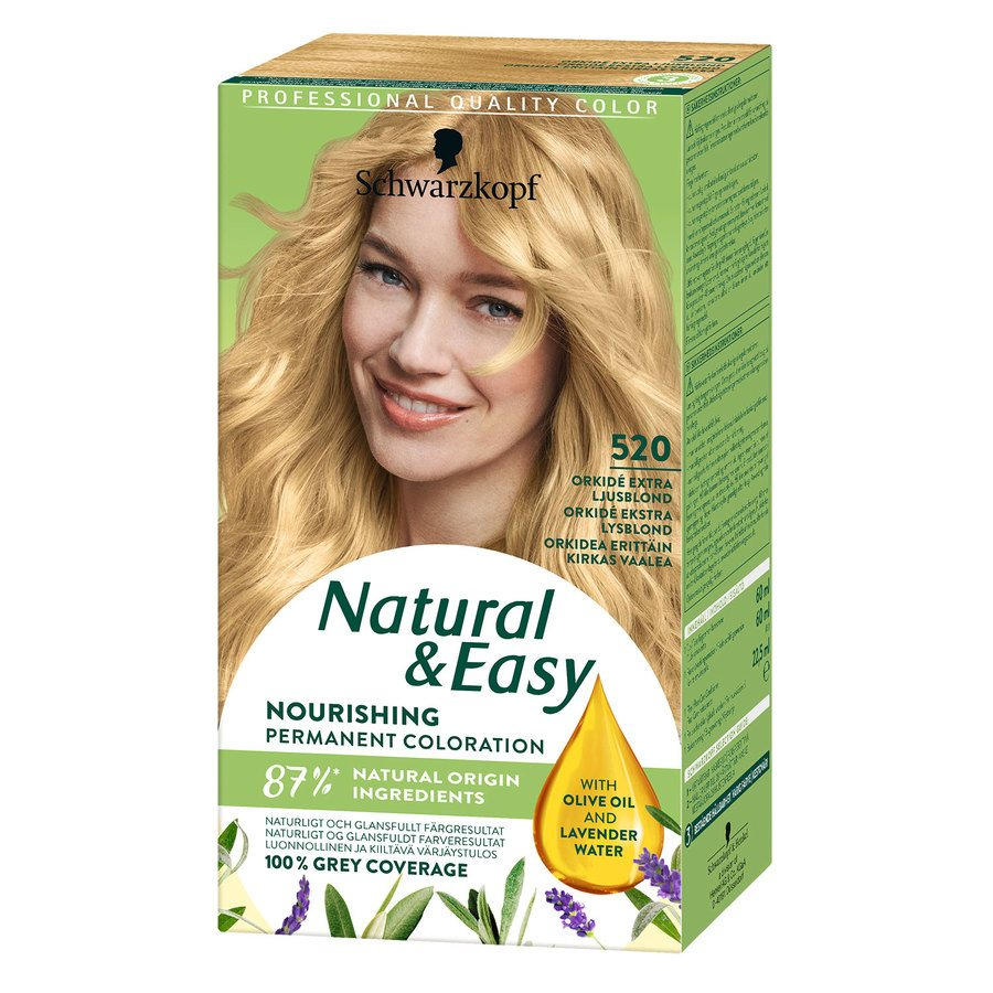 Schwarzkopf Natural & Easy 520 Orchid Extra Light Blonde