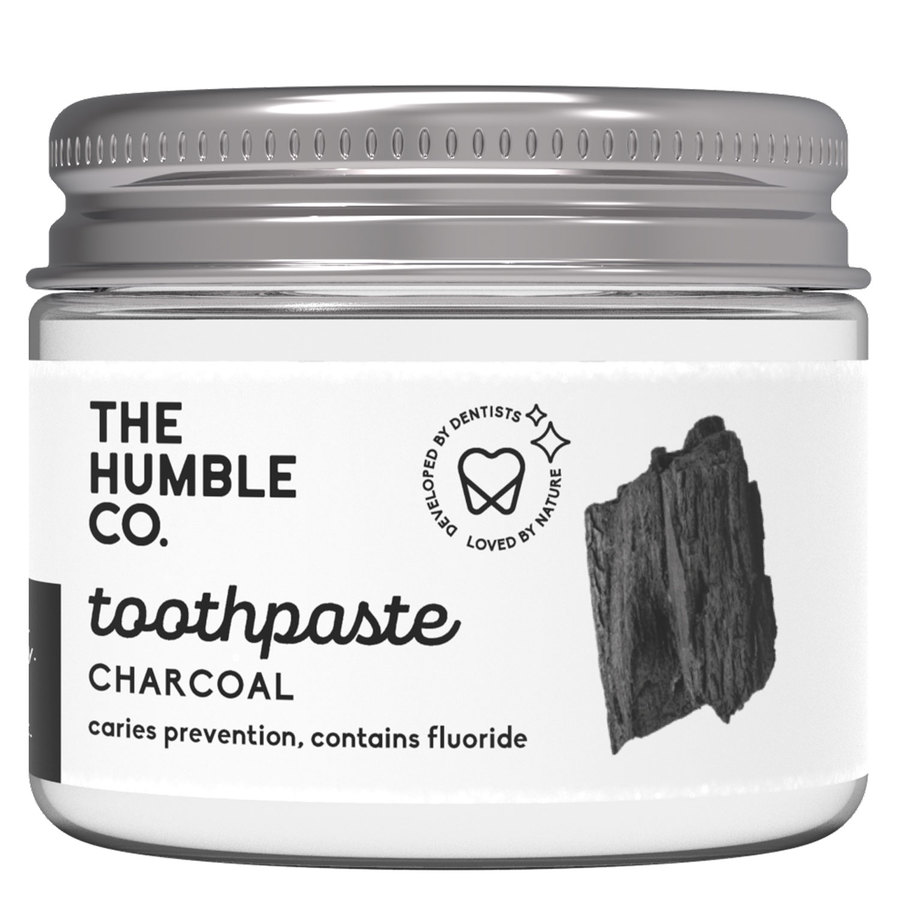 The Humble Co Humble Natural Toothpaste In Jar Charcoal 50 ml