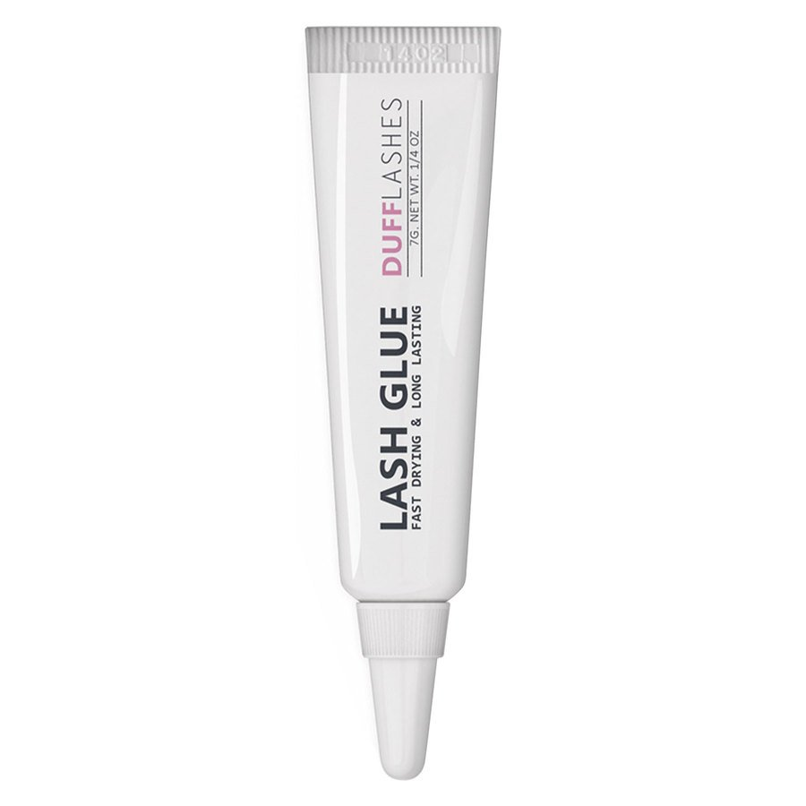 DUFF Lashes Glue Waterproof Long Lasting White 7 g