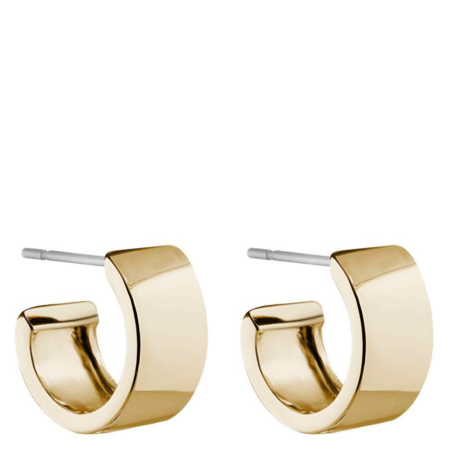 Snö of Sweden Carrie Small Earring Plain Gold 13 mm