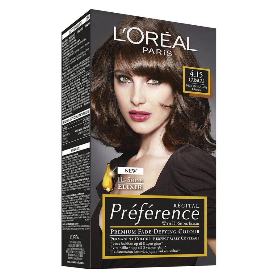 L'Oréal Paris Préférence Core Récital 4.15