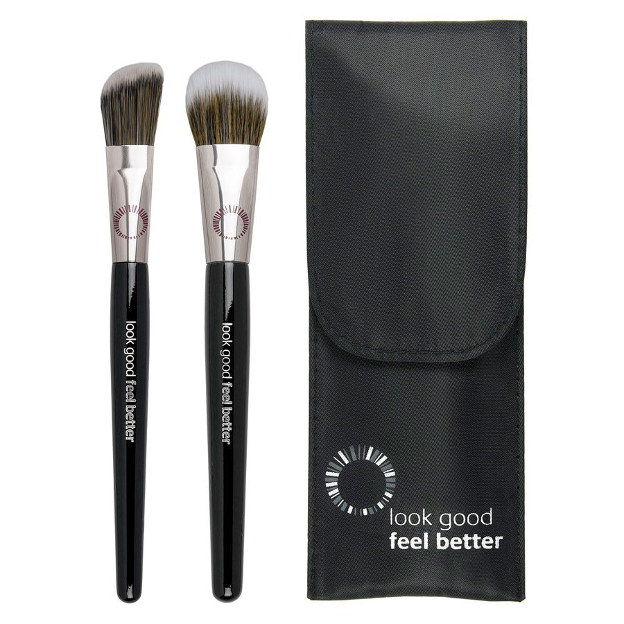 Brushworks Look Good Feel Better Foundation Duo Set