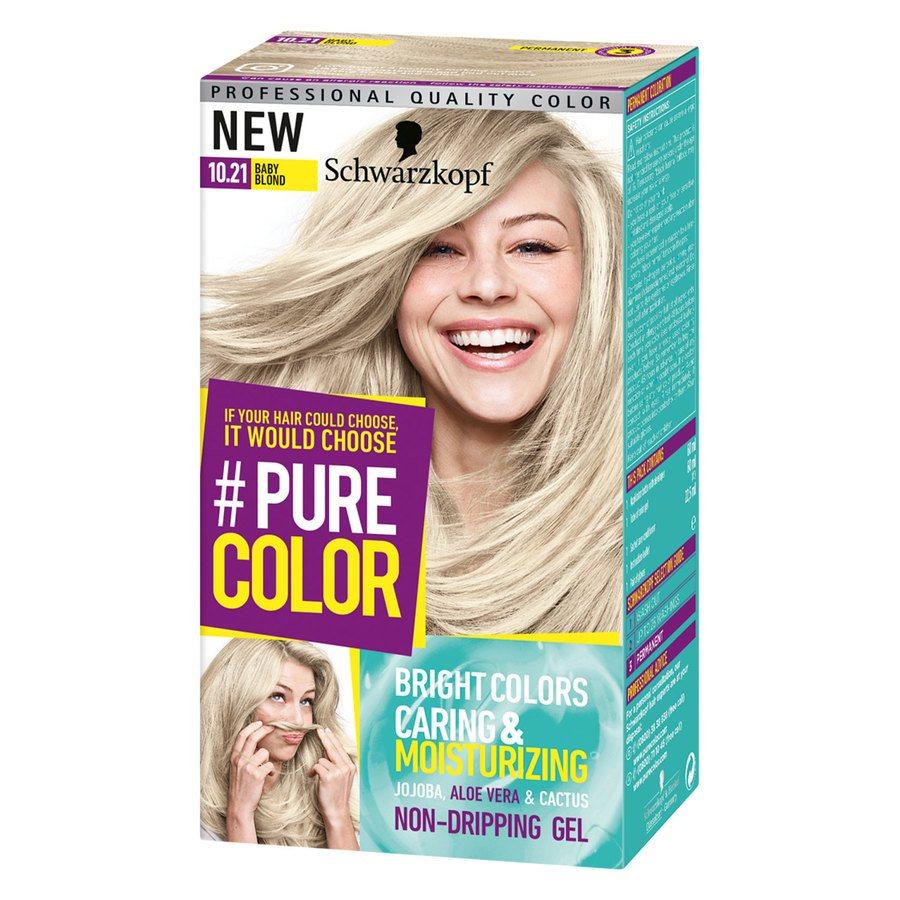 Schwarzkopf Pure Color 10.21 Baby Blonde 142 g