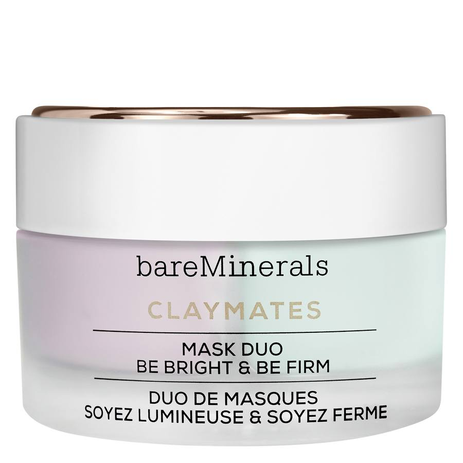 """BareMinerals ClayMates Mask Duo: Be Bright & Be Firm """" 58gr"""