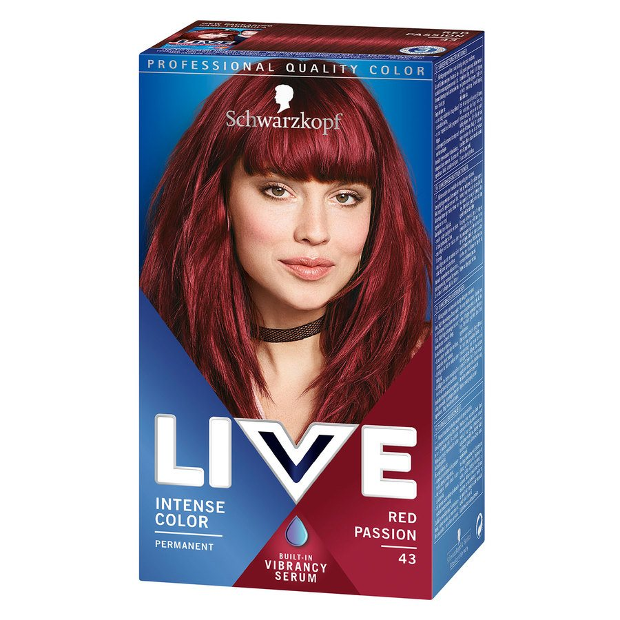 Schwarzkopf Live XXL #43 Red Passion