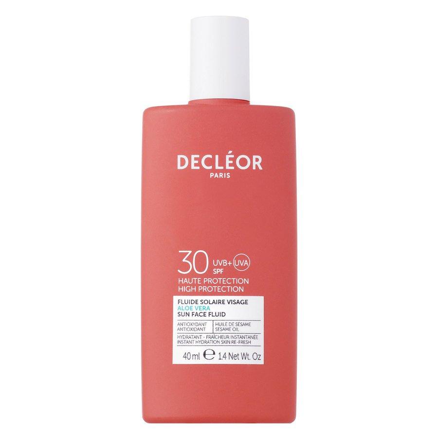 Décleor Aloe Vera Sun Face Fluid SPF30 40 ml
