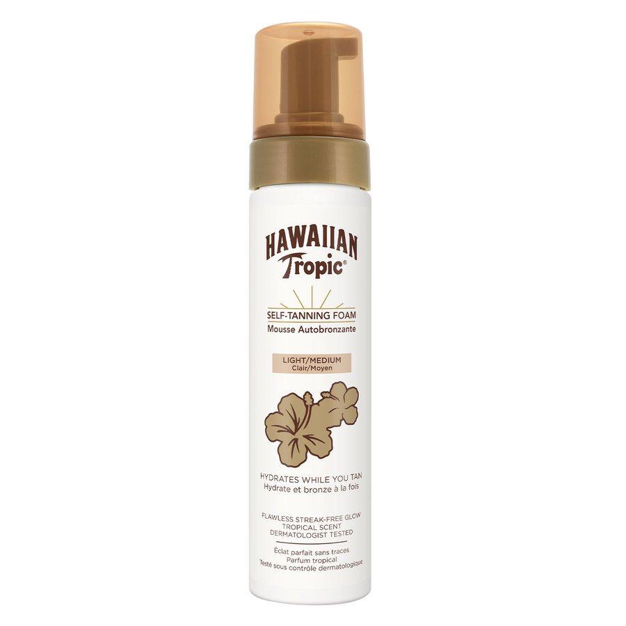 Hawaiian Tropic Self-Tanning Foam Light/Medium 200 ml