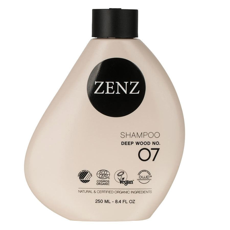 Zenz Organic No. 07 Deep Wood Shampoo 250 ml