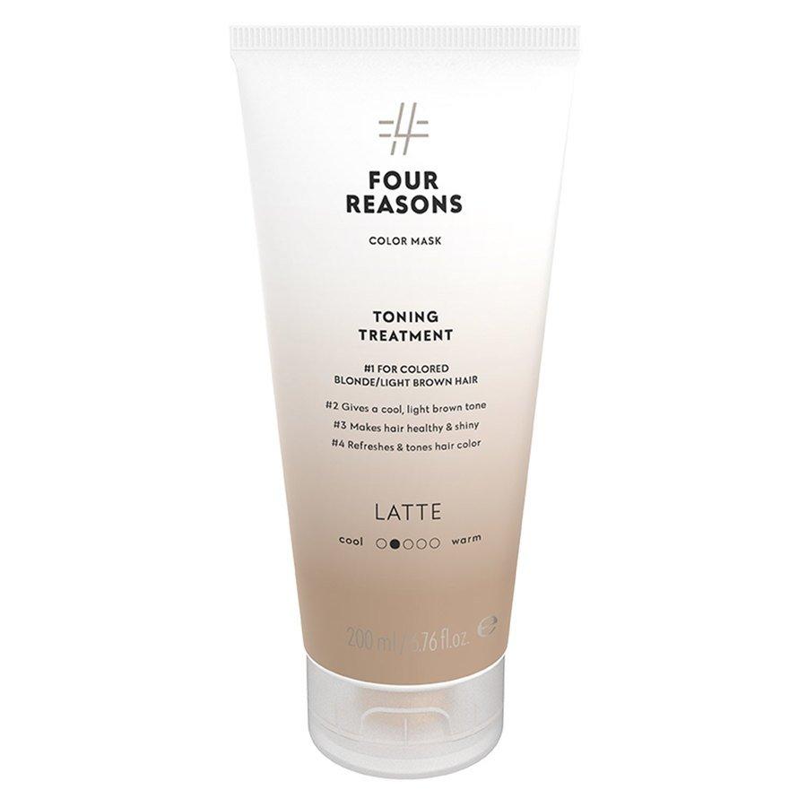 Four Reasons Color Mask Toning Treatment Latte 200 ml