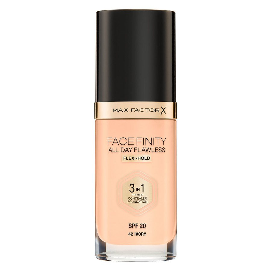Max Factor Facefinity All Day Flawless 3-in-1 Foundation #42 Ivory 30 ml