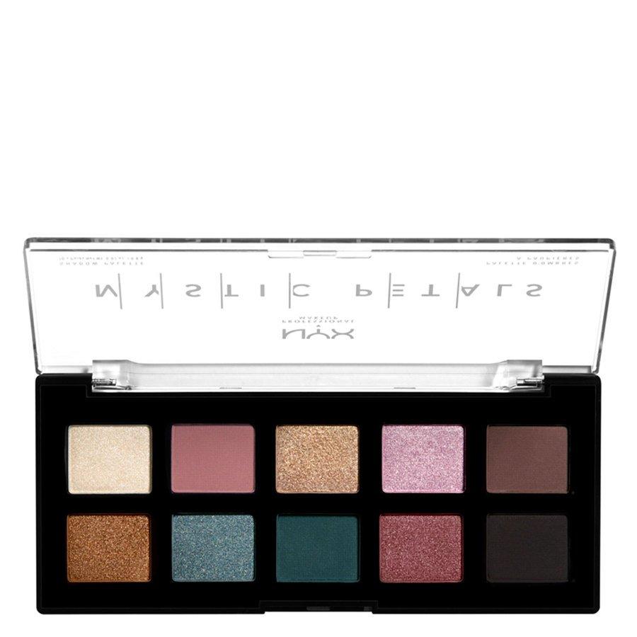 NYX Professional Makeup Mystic Petals Shadow Palette Dark Mystic 10x0,8 g