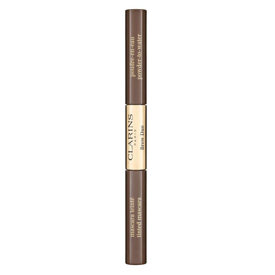 Clarins Brow Duo 04 Medium Brown 2,8 g