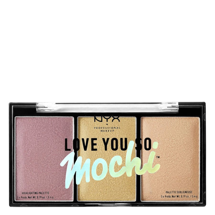 NYX Professional Makeup Love You So Mochi Highlighter Palette Lit Life